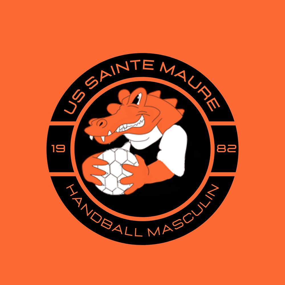 US Sainte-Maure Handball masculin nouveau logo
