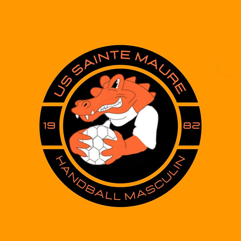 US Sainte-Maure Handball Masculins Logo