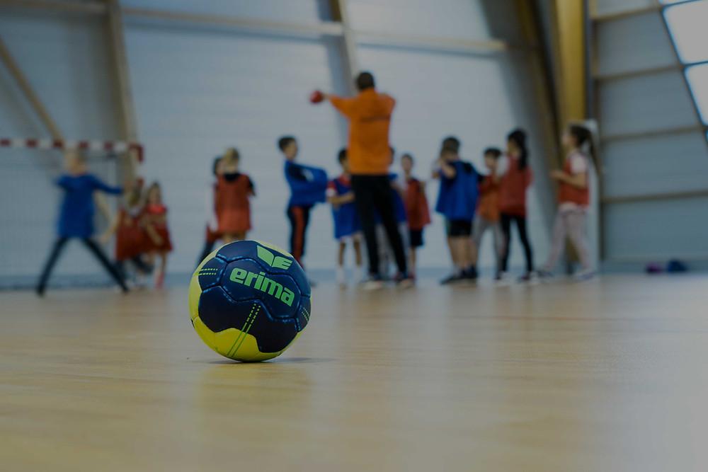 Reprise entrainement mineur US Sainte-Maure Handball Masculin