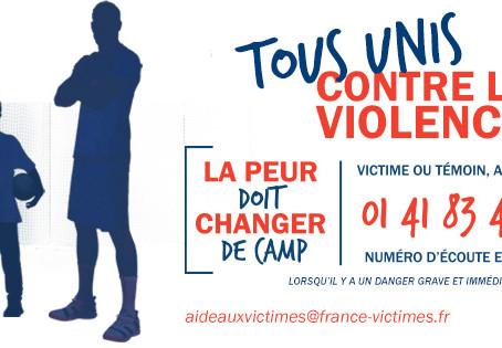 Tous unis contre les violences - Attestation d'honorabilité
