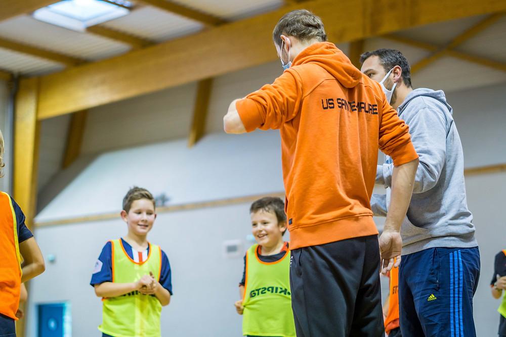 Reprise des entrainements US Sainte-Maure Handball Masculin