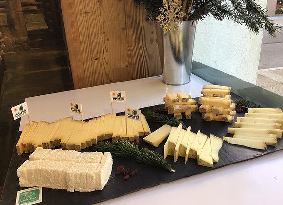 plateau de fromages coupés 1Kg