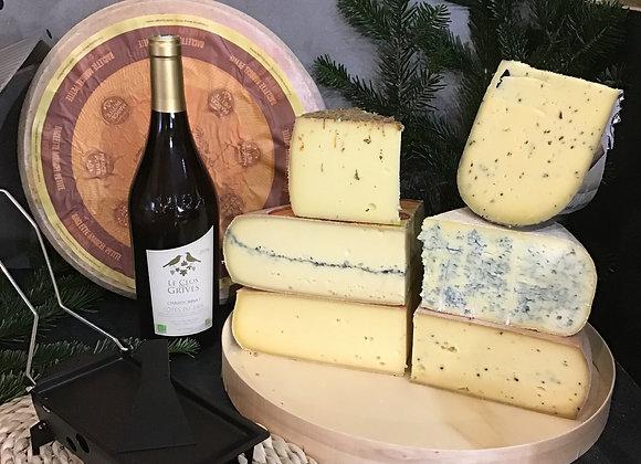 Raclettes surprenantes avec 3 à 5 fromages  600g