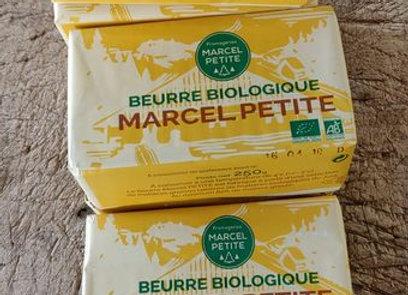 Beurre biologique Marcel Petite