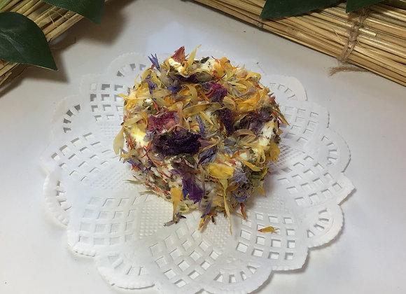 Satonnay aux fleurs