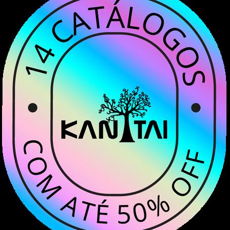14 catálogos com até 50% OFF