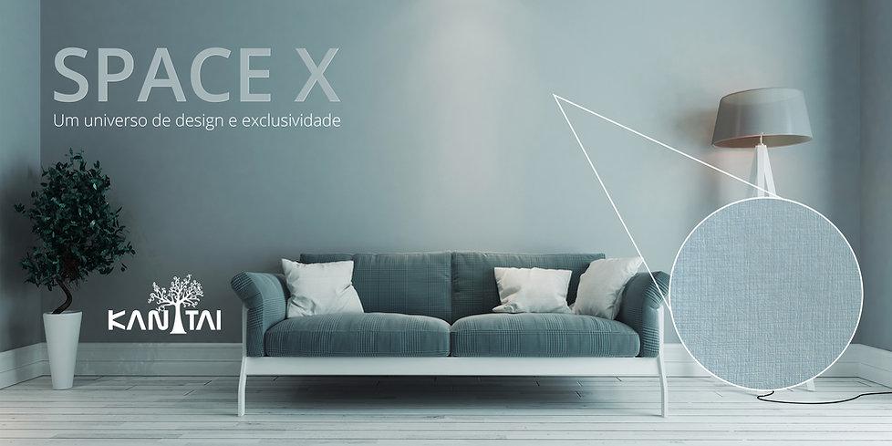 Space X - Tecido de parede Kan Tai