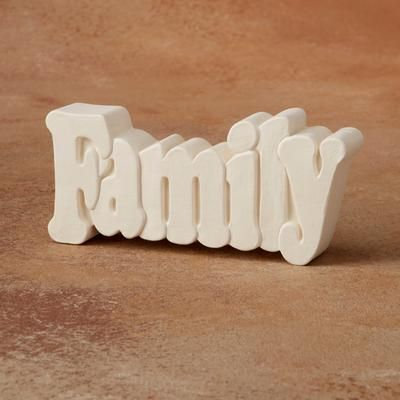 Family Small Word Plaque