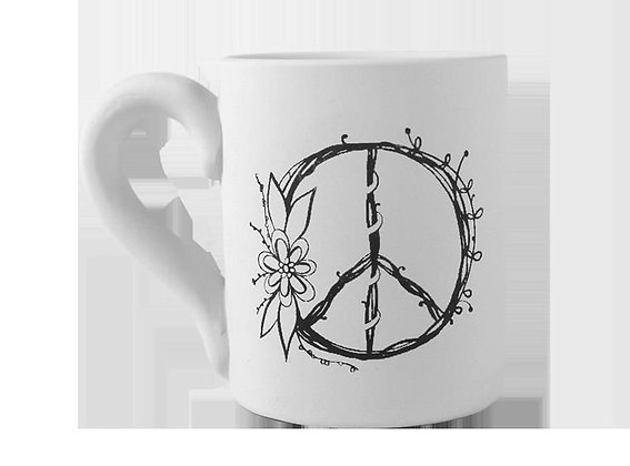 Vintage Peace Mug