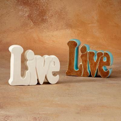 Live Word Plaque