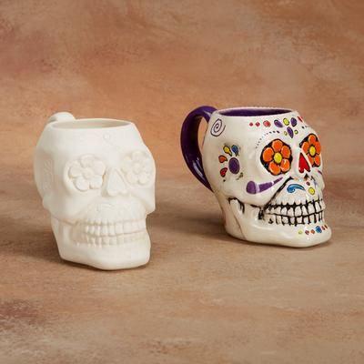 Sugar Skull Mug Gare