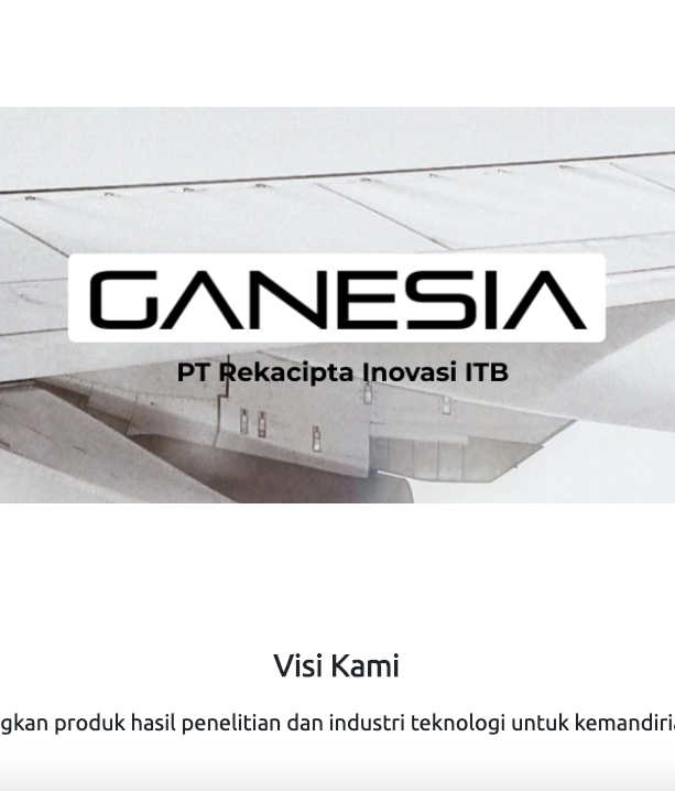 Ganesia Website & Product