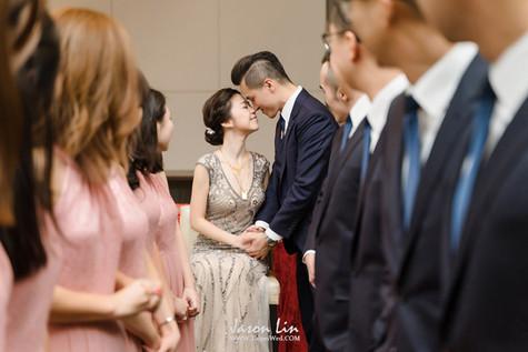 【囍】Felix & Jessica 婚禮紀實 @台北美福大飯店