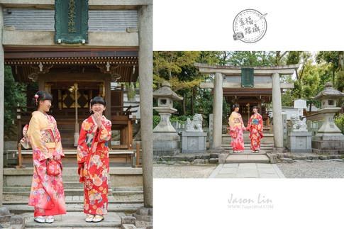 【旅】親子旅拍 @京都