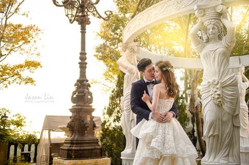【囍】小猴 & Alice 自主婚紗 @老英格蘭莊園