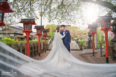 【囍】阿達 & 涵涵 自主婚紗 @日本京都