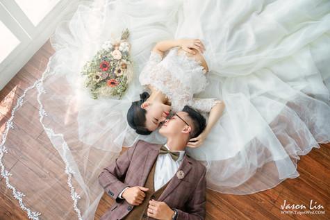 【囍】明洲 & 敏惠 自主婚紗 @台北