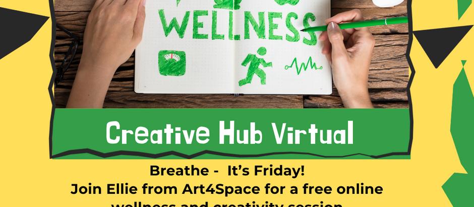 Creative Hub Virtual with Ellie