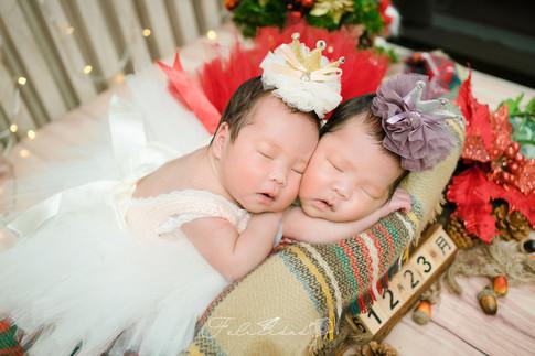 【萌】Twins Princess 新生兒寫真