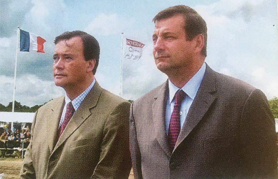 Patrice Martin-Lalande avec Jean-François Lamour