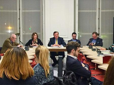 Une réunion du groupe d'études sur l'internet en 2016