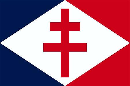 La croix de Lorraine, emblème du gaullisme