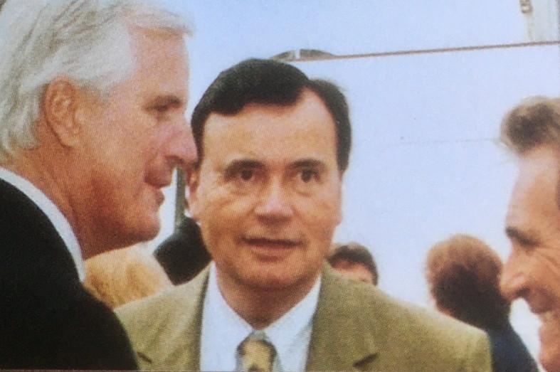 Patrice Martin-Lalande avec Michel Barnier