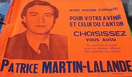 Affiche officielle pour les cantonales de 1979