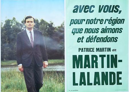 L'affiche personnelle de PML pour la campagne régionale de 1992