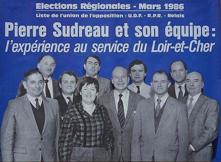 La campagne de la première élection régionale au suffrage universel direct. Avec deux candidat(e)s en chemise !