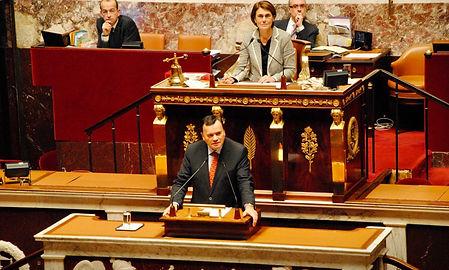 Intervention à la tribune de l'Assemblée nationale en 2013