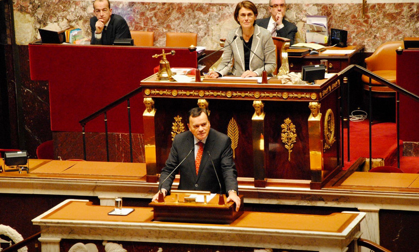 Intervention de Patrice Martin-Lalande à la tribune de l'Assemblée nationale