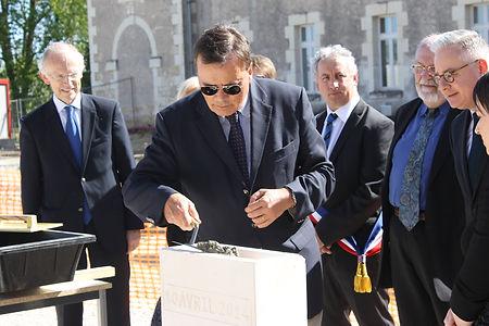 Inauguration de l'EHPAD de Châteauvieux (10 avril 2014)