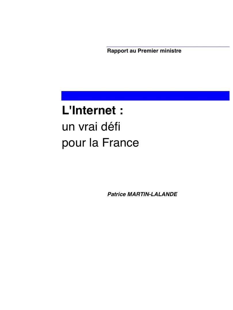L'internet un vrai défi pour la France