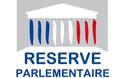 """Pictogramme """"réserve parlementaire"""""""