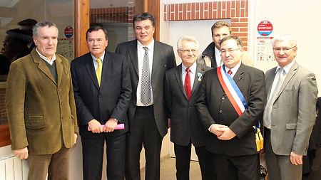 Patrice Martin-Lalande avec le Ministre des sports et ancien champion olympique David Douillet en 2011