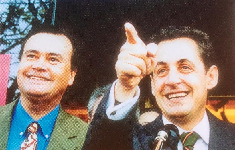 Patrice Martin-Lalande avec Nicolas Sarkozy