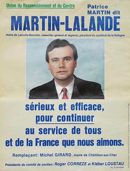 Législatives 1988 : « pour continuer » le travail de Roger Corrèze , le député sortant, avec son soutien et celui du président du Conseil général et ancien député socialiste de la circonscription, Kléber Loustau
