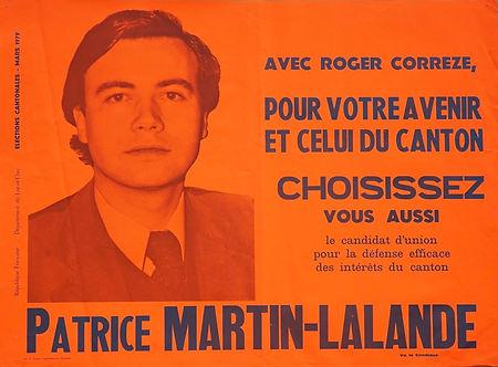 Cantonales 1979 : autant ne pas passer inaperçu sur les panneaux d'affichage !