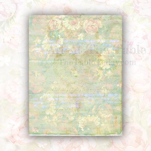 """Random Roses"" Digital Paper Collection"