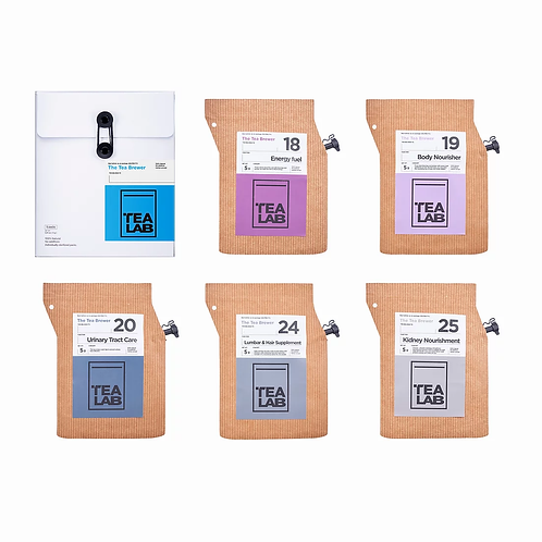 TEALAB 五行主題禮盒 - 水(5包裝)
