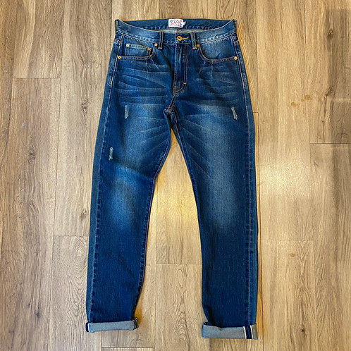 Luckyeight Washed Selvedge Denim Jeans