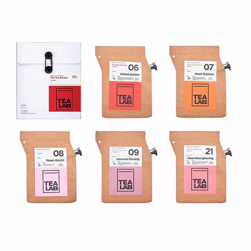 TEALAB 五行主題禮盒 - 火(5包裝)