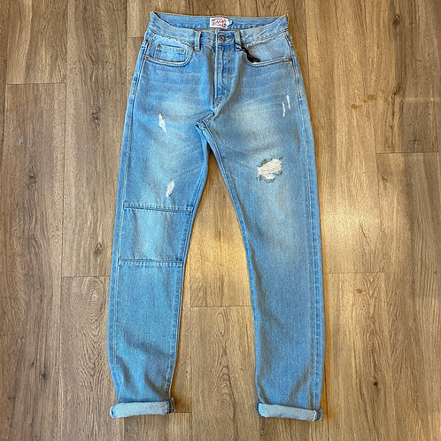Luckyeight Washed Denim Jeans