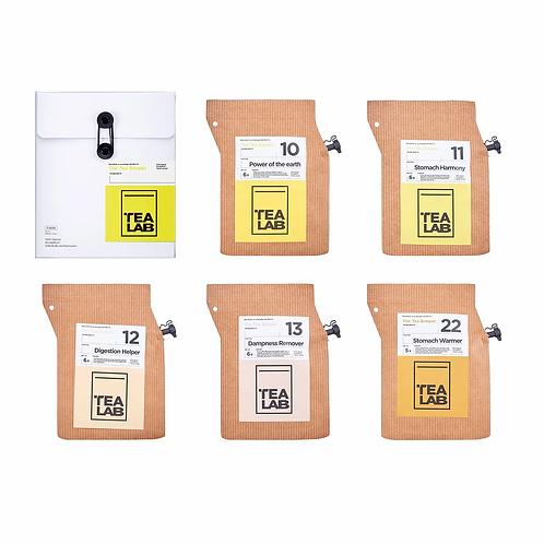 TEALAB 五行主題禮盒 - 土(5包裝)