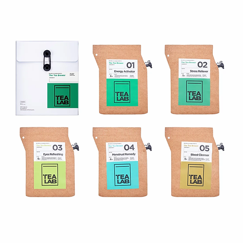 TEALAB 五行主題禮盒 - 木(5包裝)