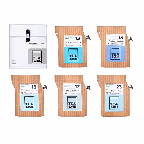 TEALAB 五行主題禮盒 - 金 (5包裝)