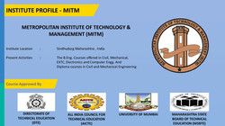 3. OUR GROUP INSTITUTE (MITM)