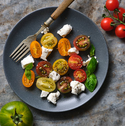 tomato and fetta salad