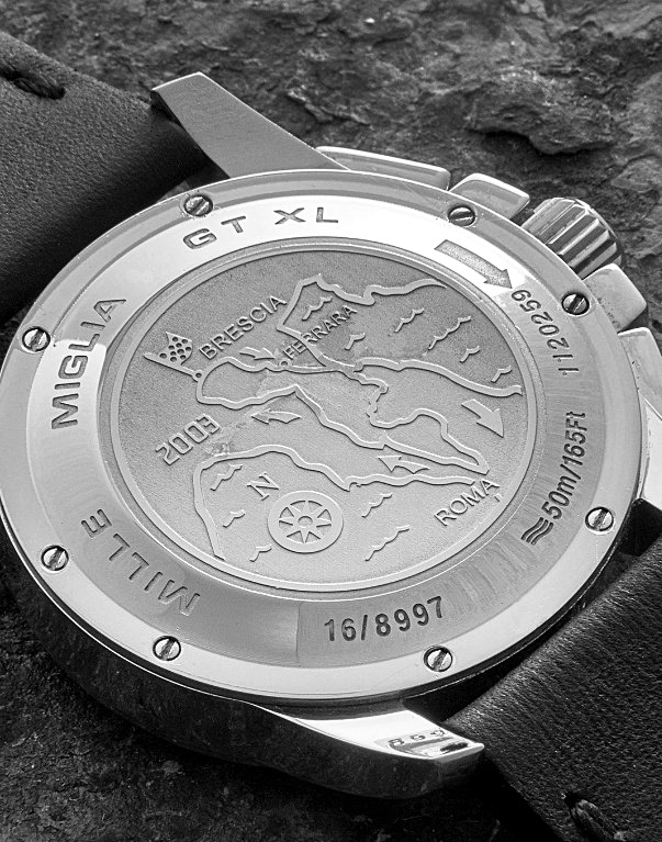 Malle Miglia watch back